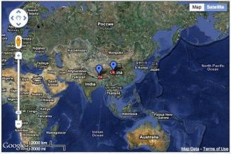 Interactive Map of Jonang Sites