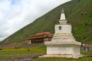 Schoolhouse (stupa view)